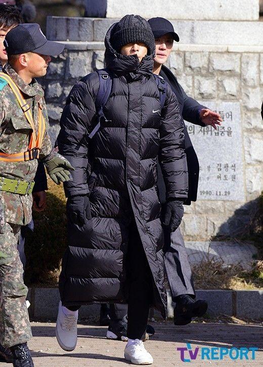 【BIGBANG NEWS】【PHOTO】BIGBANGのT.O.P、軍入所式に出席