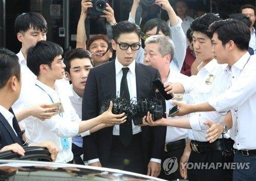 【BIGBANG NEWS】BIGBANGのT.O.P、義務警察復職後に病気休暇を取得