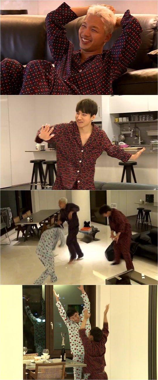 """【BIGBANG NEWS】BIGBANGのSOL、V.I&D-LITEと自宅でパジャマパーティー!大はしゃぎで""""ダンス三昧""""(動画あり)"""
