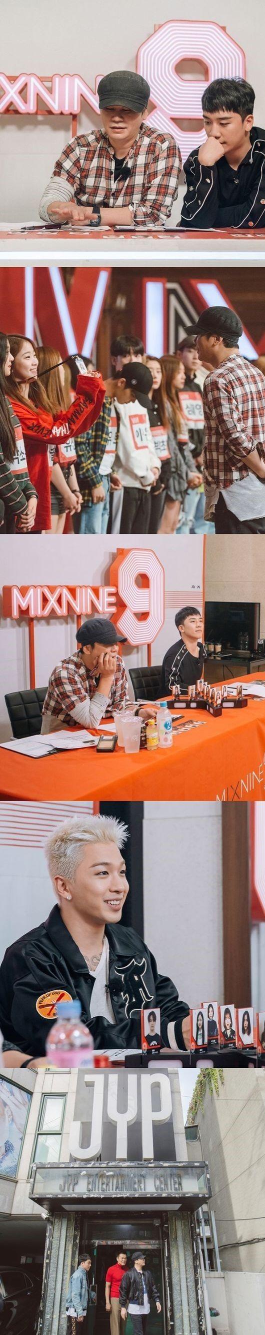 【BIGBANG NEWS】YGヤン・ヒョンソク代表「MIX NINE」ビハインドカット公開…BIGBANGのSOL&V.Iの姿も