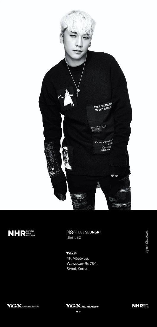 【BIGBANG NEWS】BIGBANGのV.I、YG系列会社「YGX」の代表に就任…ヤン・ヒョンソクが名刺を公開