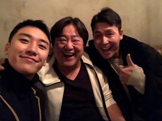 【BIGBANG NEWS】BIGBANGのコンサートを観覧…チョン・ウソン&クァク・ドウォン、メンバーとの記念ショットを公開「最高!」