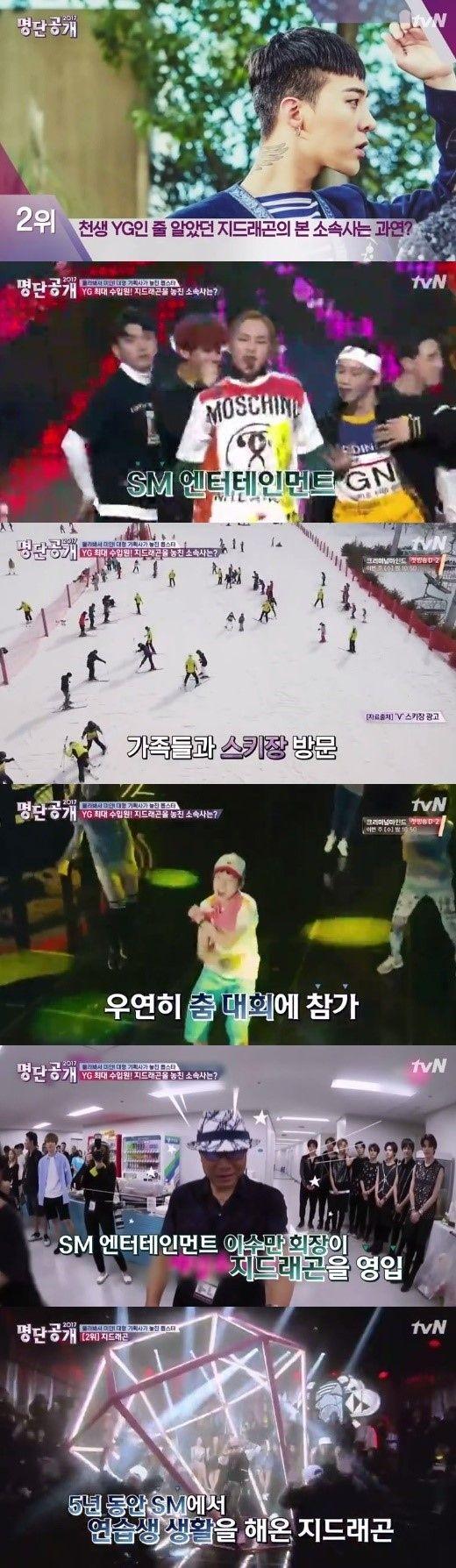 【BIGBANG NEWS】G-DRAGON「SM練習生」だった過去に驚き…意外な場所でイ・スマンとの縁