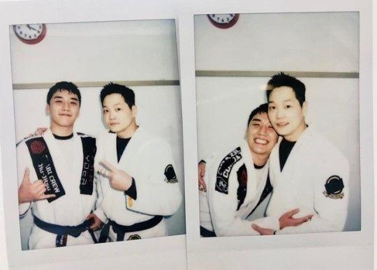 【BIGBANG NEWS】BIGBANGのV.I、元1TYM オ・ジンファンとのツーショット公開…ブラジリアン柔術で対決