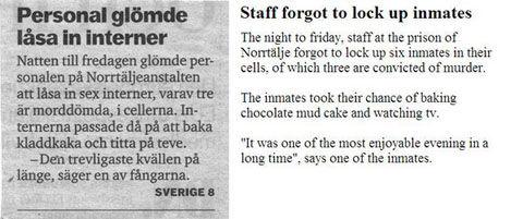 Swedish-inmates