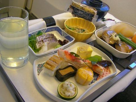 JAL_Executive_Class_meal