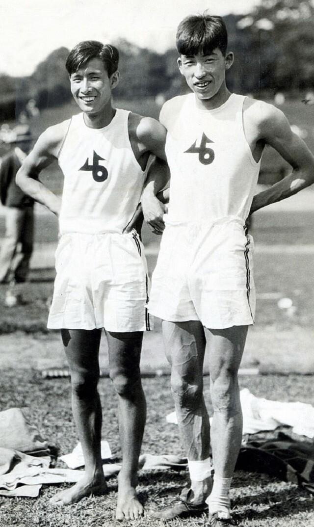 Sueo_Ōe_and_Shuhei_Nishida_1930