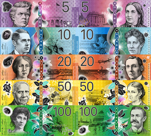 new-australian-banknotes