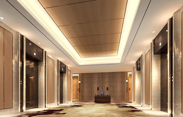 Business-Hotel-front-desk-and-elevator-hall