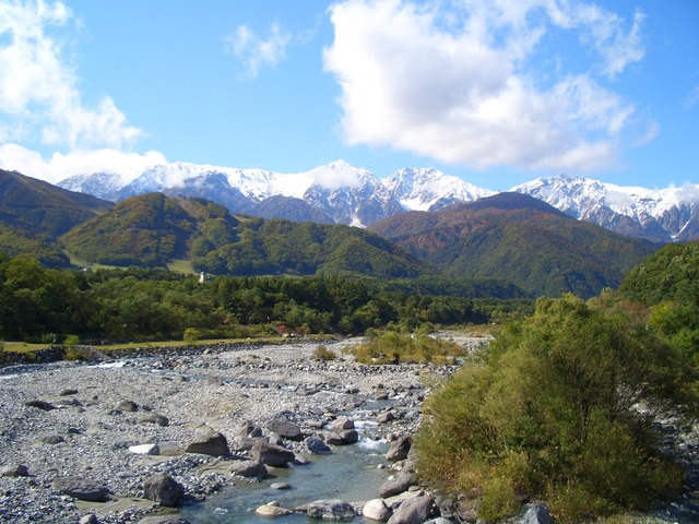 first-snow-hakuba-river
