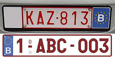 300px-BE_license_plate