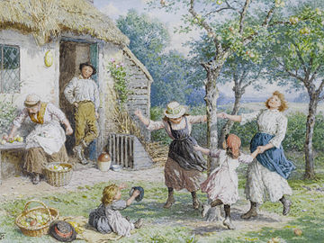 360px-Myles_Birket_Foster_Ring_a_Ring_a_Roses