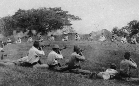 Japanese-soldiers-shooting-blindfolded-Sikh-prisoners