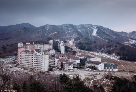 英紙「韓国のスキーリゾート廃墟を見てみよう」