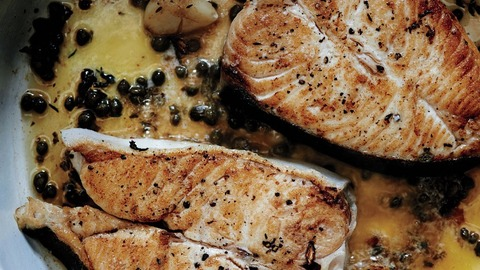 butter-basted-halibut-steaks-with-capers