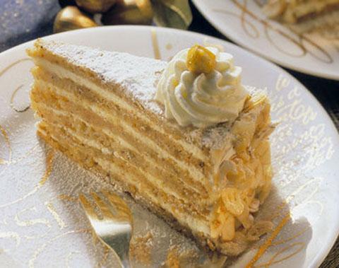 Torten-Rezepte- Nuss-Sahne-Torte