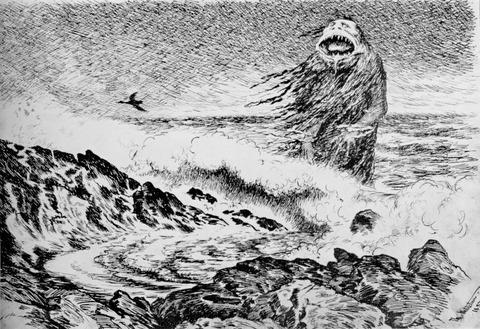 Theodor_Kittelsen_-_Sjotrollet,_1887_(The_Sea_Troll)