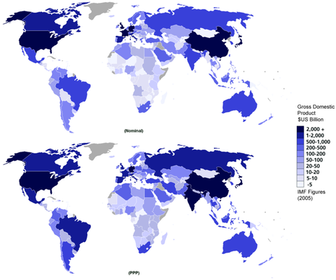 720px-Gdp_nominal_and_ppp_2005_world_map_single_colour