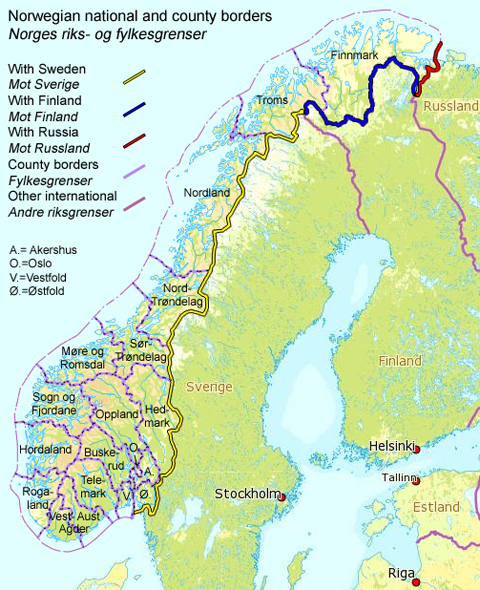 Norway_Borders
