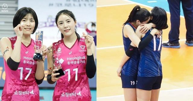 Korea-volleyball-twins