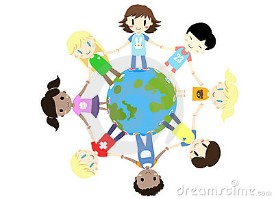 kids-one-world-one-family-vector-20578536