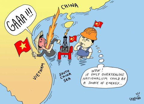 vietnam+and+china+oil+fight