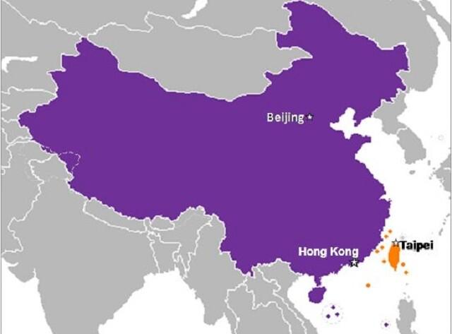taiwan-hong-kong-china-map