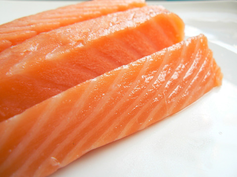 salmon+slice