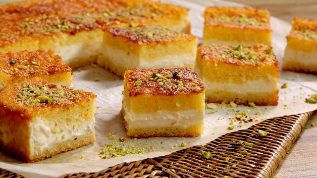 basbousa-with-qashta-recipe