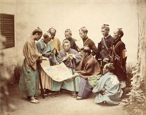 762px-Satsuma-samurai-during-boshin-war-period