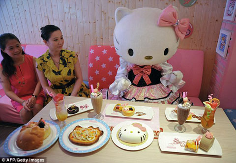 1409195342696_wps_2_A_Hello_Kitty_doll_poses_