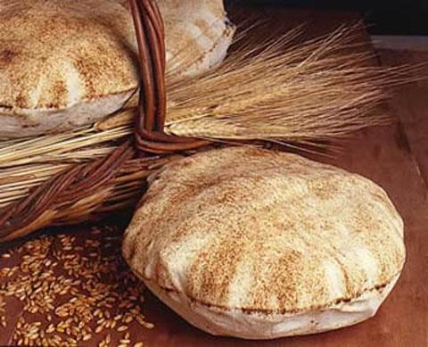 bread - pita lebanese