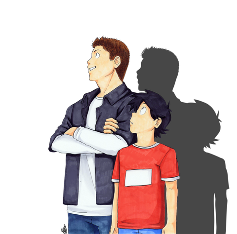 dastiel_and_unnamed_little_bro_by_renny08