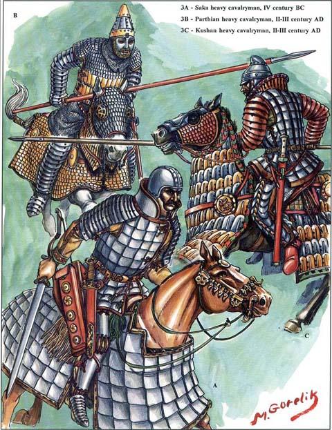 0200_Saka_Kushan_Cavalry