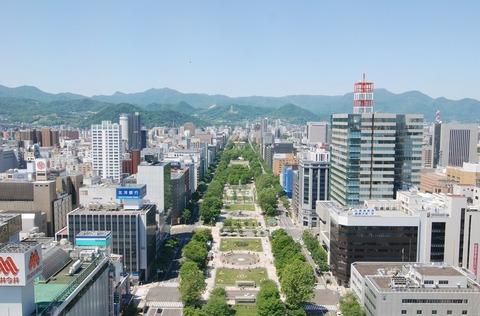 大通公園全景