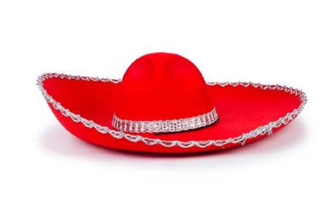 26880471-red-mexixan-sombrero-hat-isolated-on-white