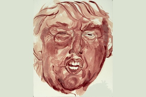 Donald-Trump-Menstrual-Blood-portrait-by-Sarah-Levy-865x577