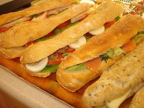 Sandwiches+baguette