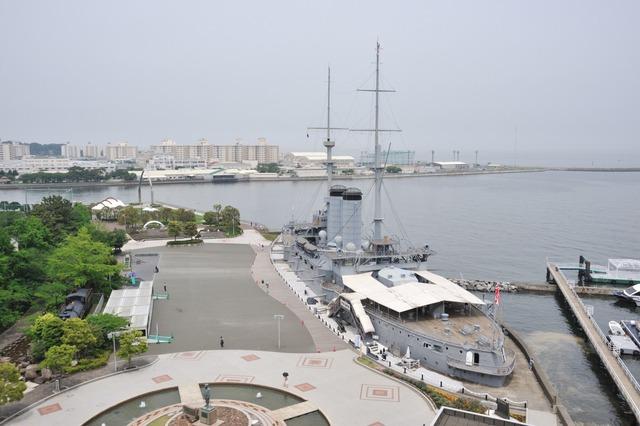 Battleship_Mikasa_park
