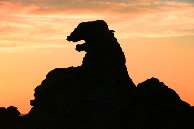 Godzilla-Rock-Evening