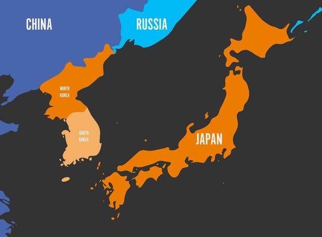 map-of-south-korea-north-korea-and-japan-vector-17924976
