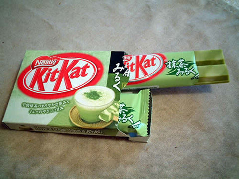 Kit+Kat+Green+Tea+Japan