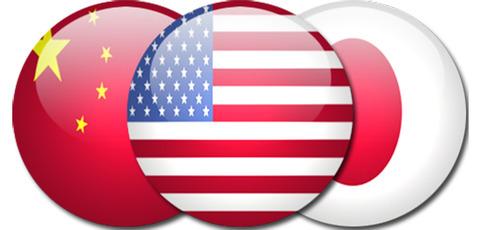 China-US-Japan