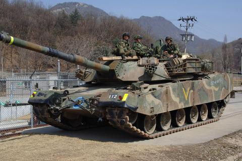Korean_K1_Tank