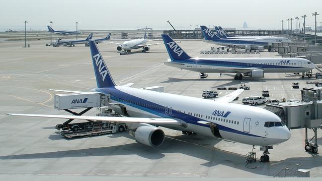 ANA_Boeing_767-300s_JA8256_JA8273_Haneda