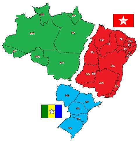 BRASIL+DIVIDIDO