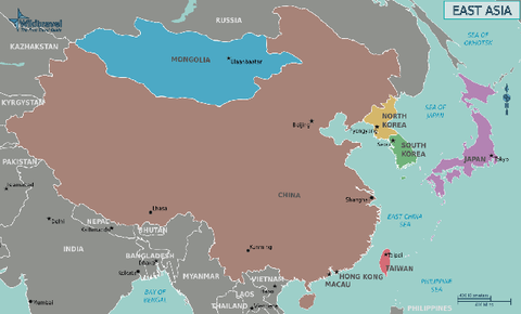 Eastern-Asia-Political-Map