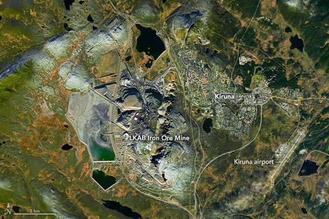 Kiruna_iron_mine_ISS