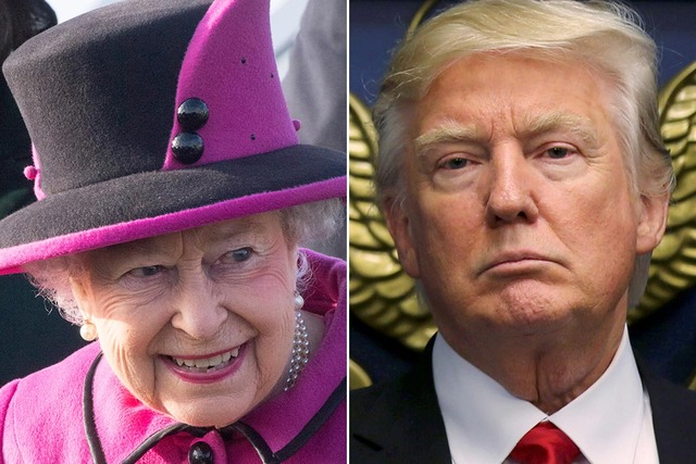 queen-elizabeth-ii-donald-trump