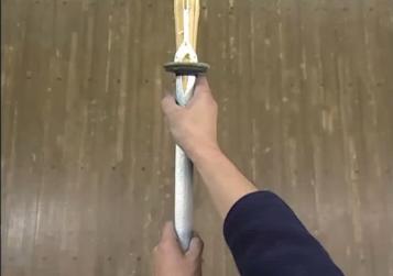 竹刀の握り方
